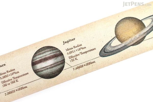 MT Ex Washi Tape - Encyclopedia Solar System - 30 mm x 10 m - MT MTEX1P35
