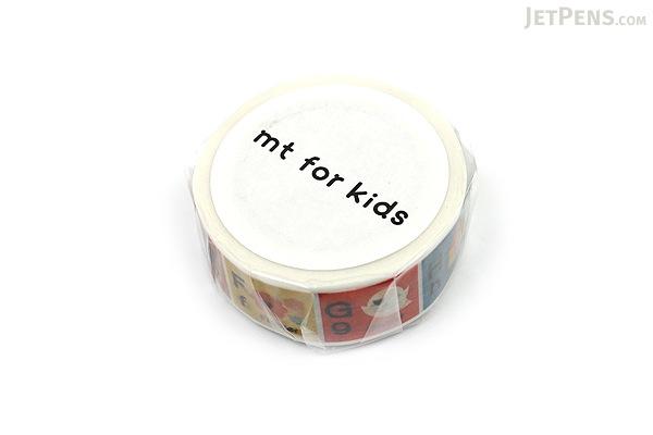 MT For Kids Washi Tape - Alphabet A-M - 15 mm x 7 m - MT MT01KID13