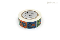 MT For Kids Washi Tape - Alphabet N-Z - 15 mm x 7 m - MT MT01KID14