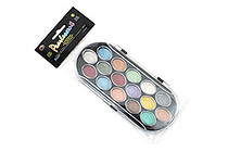 Yasutomo Niji Pearlescent Watercolor Set - 16 Colors - YASUTOMO NPWC16