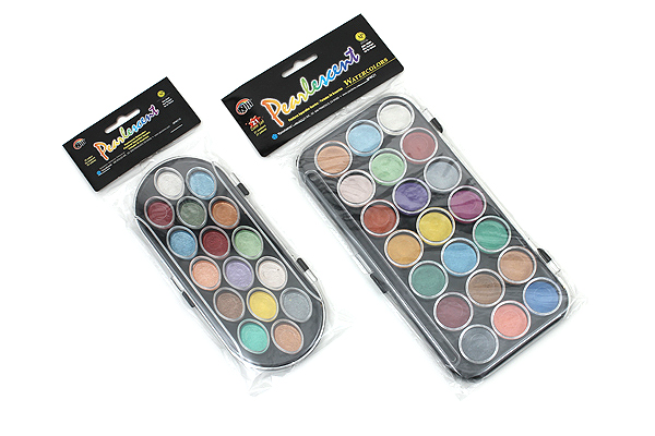 Yasutomo Niji Pearlescent Watercolor Set - 21 Colors - YASUTOMO NPWC21