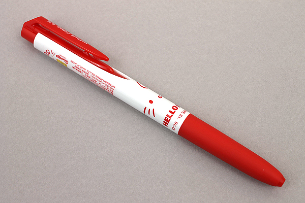 Uni-ball Signo RT1 Limited Edition Hello Kitty Gel Ink Pen - 0.38 mm - Red - UNI UMN185KT38.RR