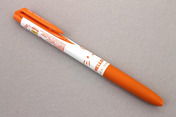 Uni-ball Signo RT1 Limited Edition Hello Kitty Gel Ink Pen - 0.38 mm - Orange - UNI UMN185KT38RO