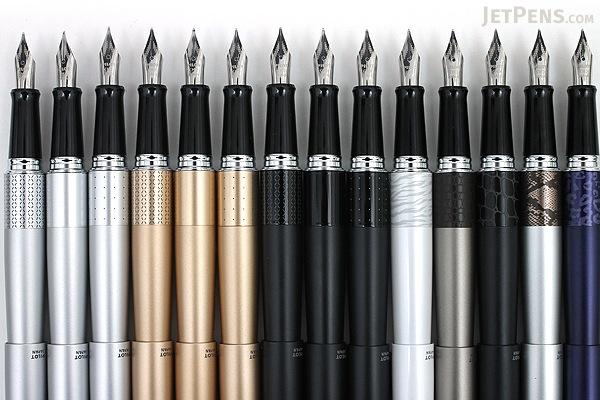 Pilot Metropolitan Fountain Pen - Black Plain - Fine Nib - PILOT MRFC1BLKFBLKP