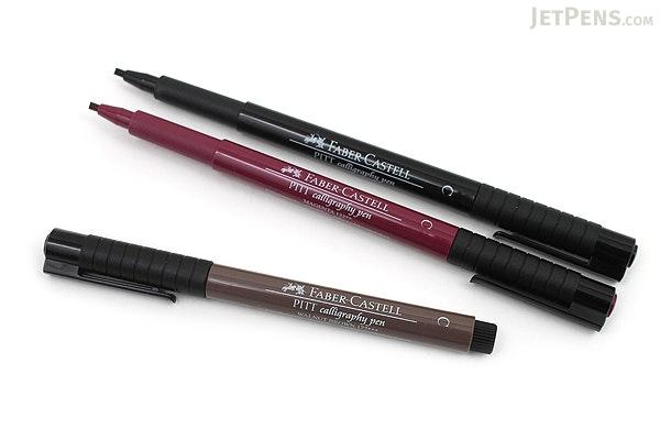 Faber-Castell PITT Calligraphy Pen - Sepia - FABER-CASTELL FC800075