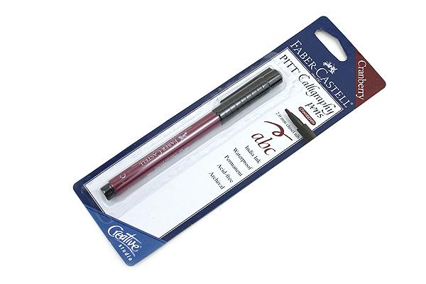 Faber-Castell PITT Calligraphy Pen - Cranberry - FABER-CASTELL FC800074