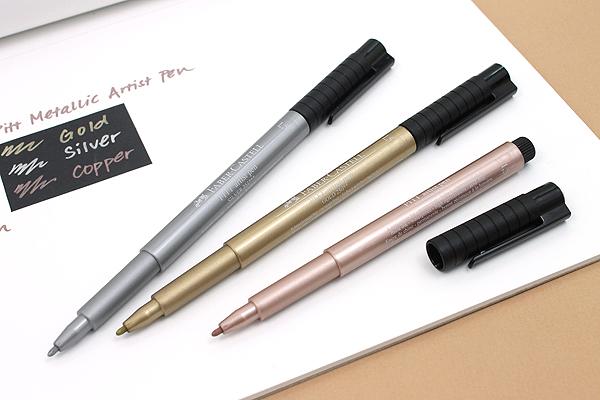 Faber-Castell PITT Metallic Artist Pen - 1.5 mm - Copper - FABER-CASTELL FC167352
