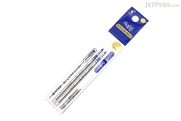 Pilot FriXion Ball 2 Biz Gel Pen Refill - 0.5 mm - Blue - Pack of 2 - PILOT LFTRF40EF-2L