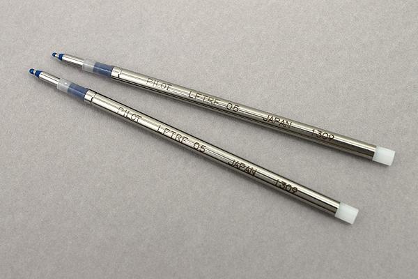 Pilot FriXion Ball 2 Biz Gel Pen Refill - 0.5 mm - Blue - Pack of 2 - PILOT LFTRF40EF-2L