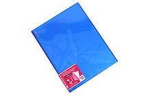 Kokuyo Novita Alpha Pocket File - A4 - 12 Pockets - Blue - KOKUYO RA-NF12B