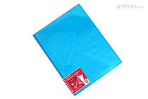 Kokuyo Novita Alpha Pocket File - A4 - 12 Pockets - Light Blue - KOKUYO RA-NF12LB