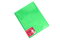 Kokuyo Novita Alpha Pocket File - A4 - 12 Pockets - Light Green - KOKUYO RA-NF12LG