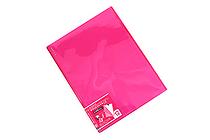 Kokuyo Novita Alpha Pocket File - A4 - 12 Pockets - Pink - KOKUYO RA-NF12P