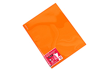 Kokuyo Novita Alpha Pocket File - A4 - 12 Pockets - Orange - KOKUYO RA-NF12YR