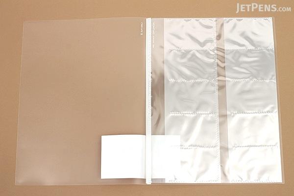 Kokuyo Novita Alpha Card File - A4 - 5 Sheets - KOKUYO RA-NF100T