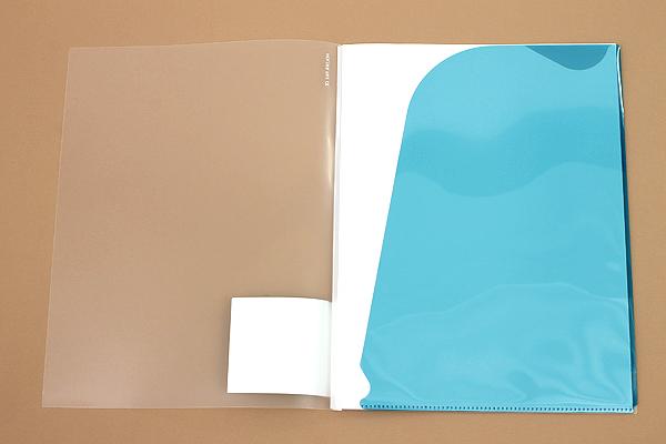 Kokuyo Novita Alpha Holder File - A4 - 4 Pockets - KOKUYO RA-NF200B