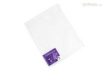 Kokuyo Novita Alpha Zipped Pocket File - A4 - KOKUYO RA-NF300T