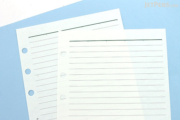 Raymay Davinci Refill Pages - Bible/Personal Size - 5 mm Ruled - 30 Sheets - RAYMAY DR276