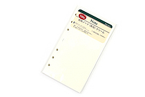 Raymay Davinci Refill Pages - Bible/Personal Size - Plain - 100 Sheets - RAYMAY DR338L