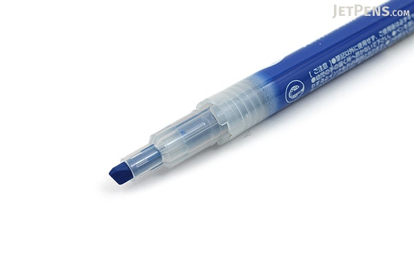 Zebra Optex 1 EZ Highlighter - Dark Blue - ZEBRA WKS11-DB