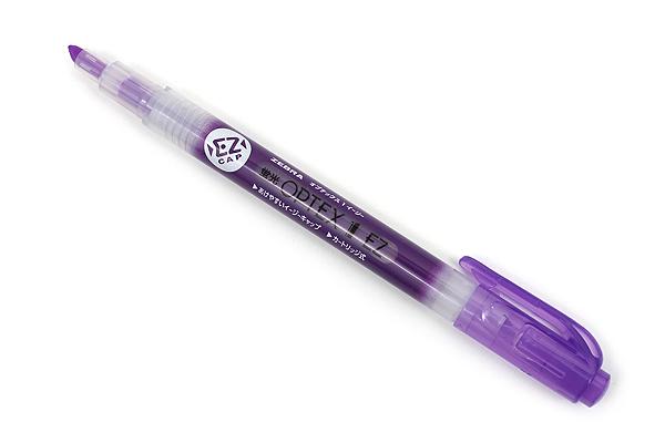 Zebra Optex 1 EZ Highlighter - Purple - ZEBRA WKS11-PU
