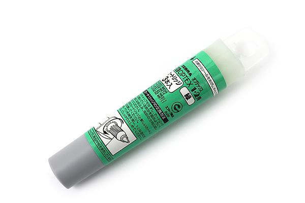 Zebra Optex Highlighter Ink Cartridge - Green - Pack of 3 - ZEBRA RWK8-G