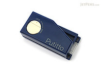 Carl Putitto Portable 2-Hole Punch - Blue - CARL PP-01-B