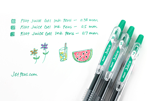 Pilot Juice Gel Pen - 0.7 mm - Leaf Green - PILOT LJU-10F-LG
