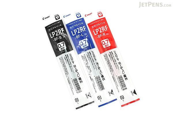 Pilot LP2RF Gel Pen Refill - 0.7 mm - Blue - PILOT LP2RF-8F-L