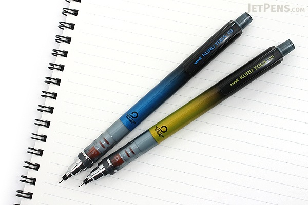 Uni Kuru Toga Auto Lead Rotation Mechanical Pencil - 0.5 mm - Limited Edition Gradation Blue Body - UNI M5-450 1P.GB