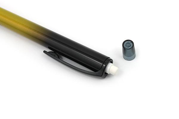 Uni Kuru Toga Auto Lead Rotation Mechanical Pencil - 0.5 mm - Limited Edition Gradation Yellow Body - UNI M5-450 1P.GY