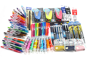 New Products: Pens, Pencils, Staplers, and Highlighters in a Rainbow of Colors!