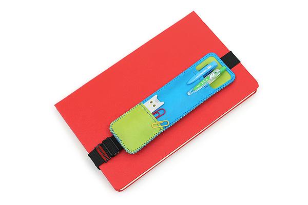 Pilot Pen Case Book Band - Light Blue - PILOT PBB-07-LB