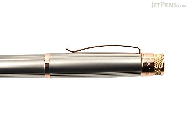 Retro 51 Tornado Fountain Pen - White Nickel EXT - Fine Nib - RETRO 51 VRF-1312-F
