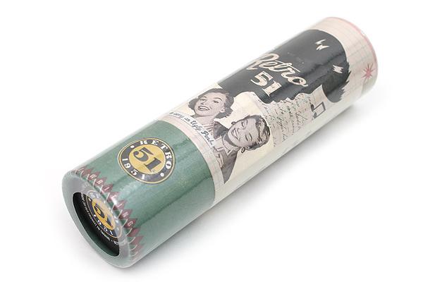 Retro 51 Tornado Vintage Metalsmith Roller Ball Pen - 0.7 mm - Eisenhower - RETRO 51 VRR-1334