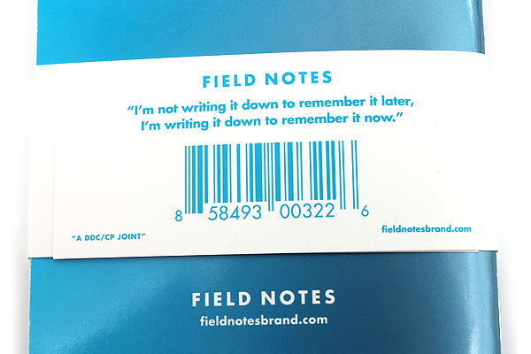 """Field Notes Color Cover Memo Book - Cold Horizon Limited Edition - 3.5"""" X 5.5"""" - 48 Pages - Graph - Pack of 3 - FIELD NOTES FNC-21"""