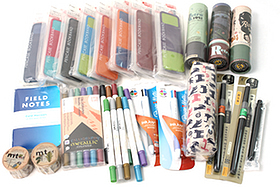 New Products: Retro Fountain Pens, Colorful Book Bands, Cool Notebooks, and More!