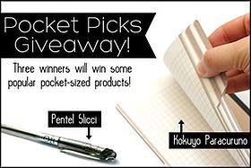 Pen Perks: JetPens Pocket Picks Giveaway