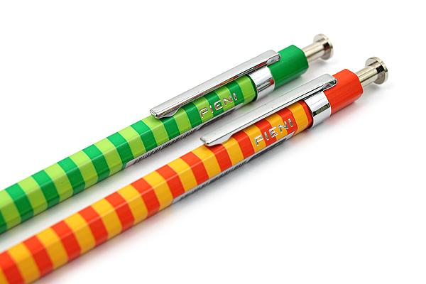 Ohto Pieni Border Needle-Point Ballpoint Pen - 0.3 mm - Green Body - OHTO NBP-353PB GREEN