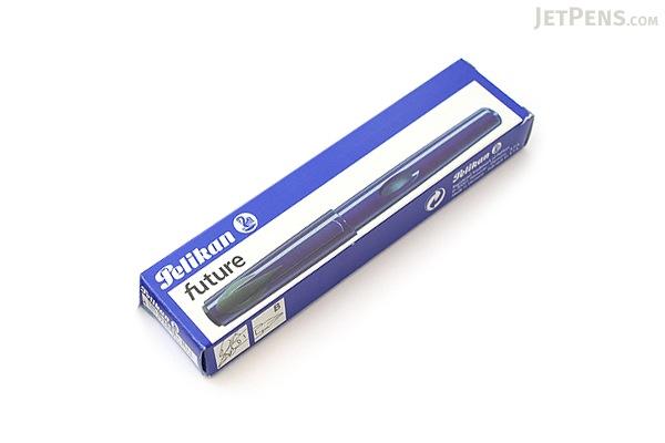 Pelikan P55 Future Fountain Pen - Broad Nib - Blue Body - PELIKAN 996595