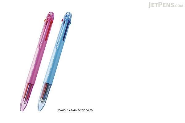 Pilot Hi-Tec-C Coleto N 3 Color Multi Pen Body Component - Black - PILOT LHKCN15C-B
