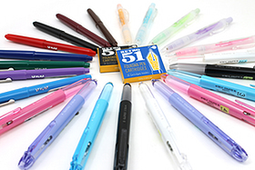 New Products: Multi Pens, Marker Pens, and Mechanical Pencils in a Burst of Delightful Colors!