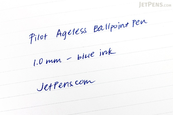 Pilot Ageless Future Ballpoint Pen - 1.0 mm - Mosaic Red Body - PILOT 61012