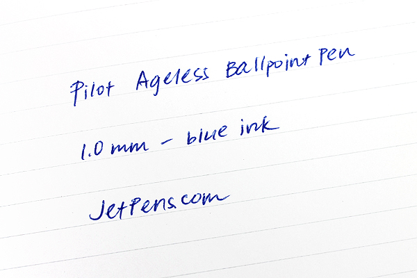 Pilot Ageless Future Ballpoint Pen - 1.0 mm - Red Body - PILOT 61002