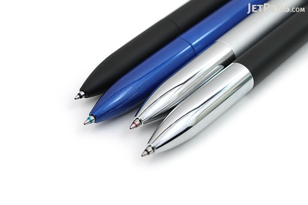 Uni Jetstream Prime 3 Color Ballpoint Multi Pen - 0.7 mm - Silver Body - UNI SXE3300007.26