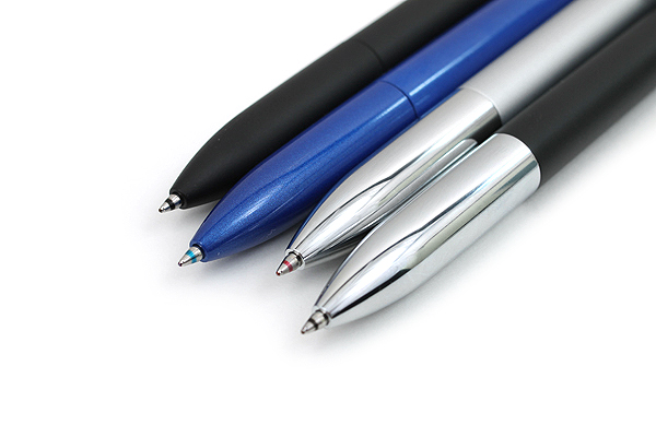Uni Jetstream Prime 3 Color Ballpoint Multi Pen - 0.7 mm - Black Body - UNI SXE3300007.24