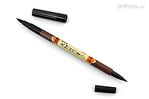 Zebra Double-Sided Brush Pen FD-501 - Soft - Broad / Fine - ZEBRA FD-501