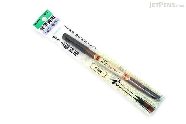 Zebra Double-Sided Brush Pen FD-501 - Soft - Broad / Fine - ZEBRA FD-501
