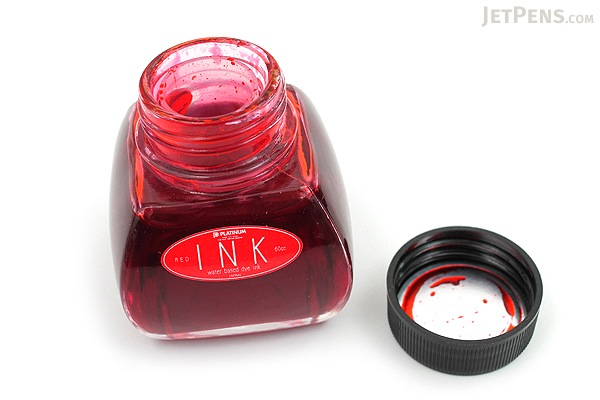 Platinum Red Ink - 60 ml Bottle - PLATINUM INK-1200 #2