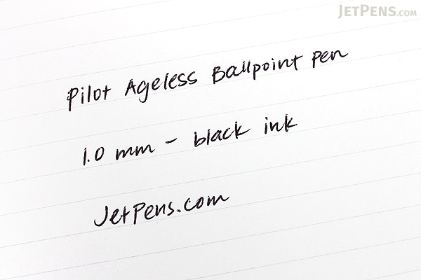 Pilot Ageless Future Ballpoint Pen - 1.0 mm - Matte Black Body - PILOT 61028